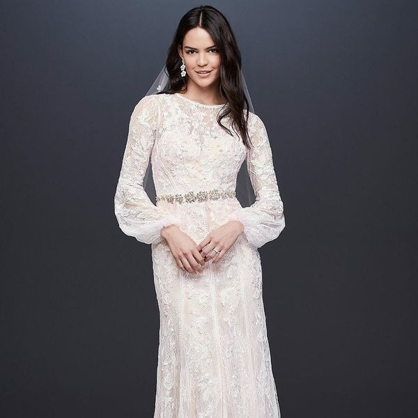 14 Affordable Statement Sleeve Wedding Dresses for the 2019 Bride