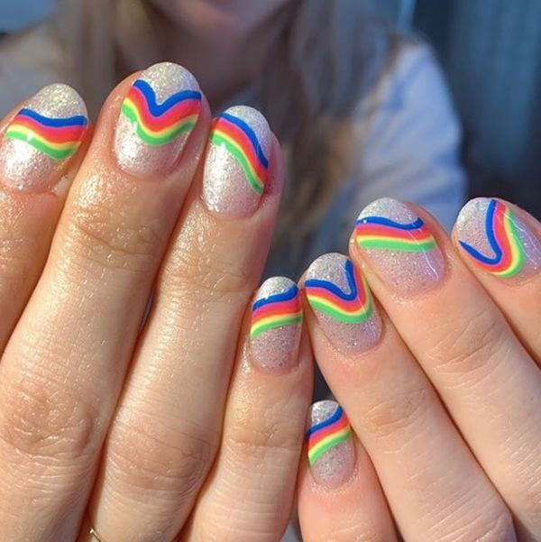 21 Neon Nail Art Ideas to Try This Spring