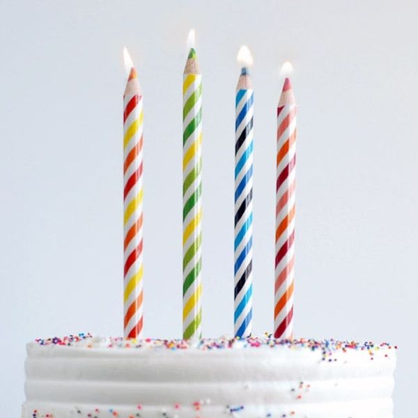 How to Hack the Most Colorful Birthday Candles Ever