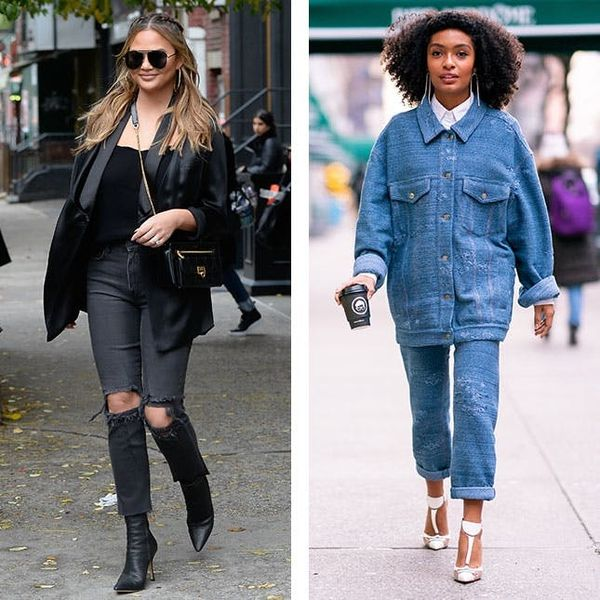 9 Creative Ways to Wear Jeans This Spring, According to Celebs