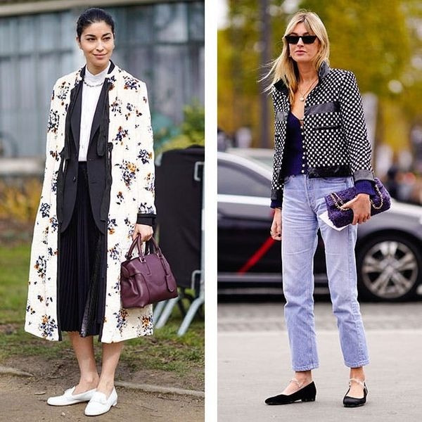 cold weather outfits to wear with flats