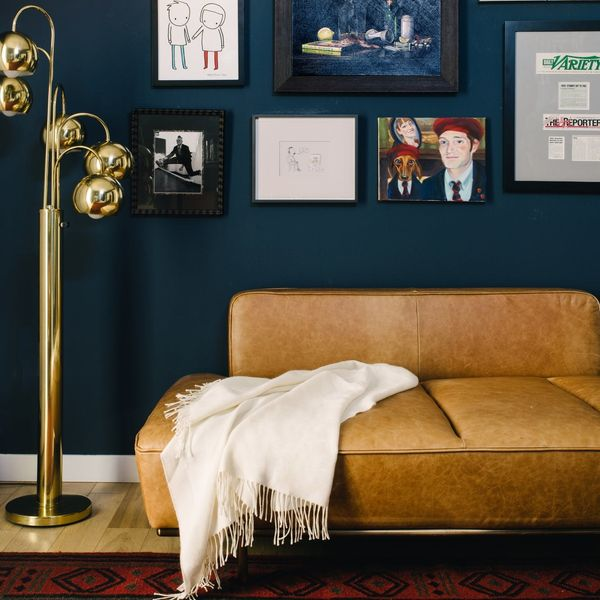 This LA ApartmentProves That Deep, Moody Blues Are the Trend That's Here to Stay