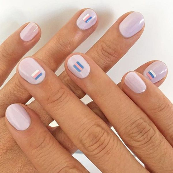 17 Ways Minimal Lines Can Make a Major Manicure Statement