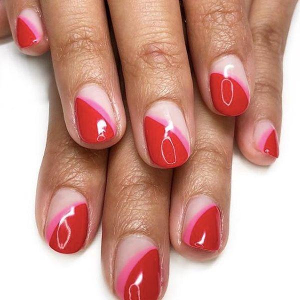20 Minimalist Ways to Wear Red Nail Polish This Valentine's Day