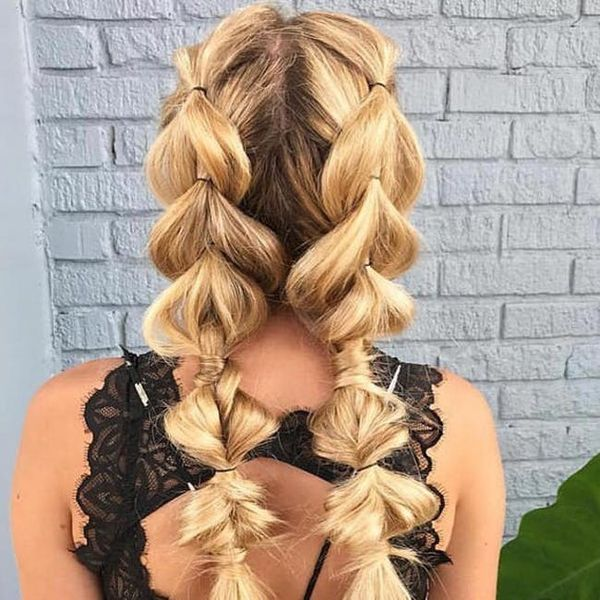 9 Bubble Braids That'll Have You Reaching for Your Hair Ties