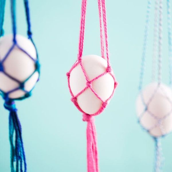 Macra-Make These Hanging Easter Egg Baskets in Just 10 Minutes