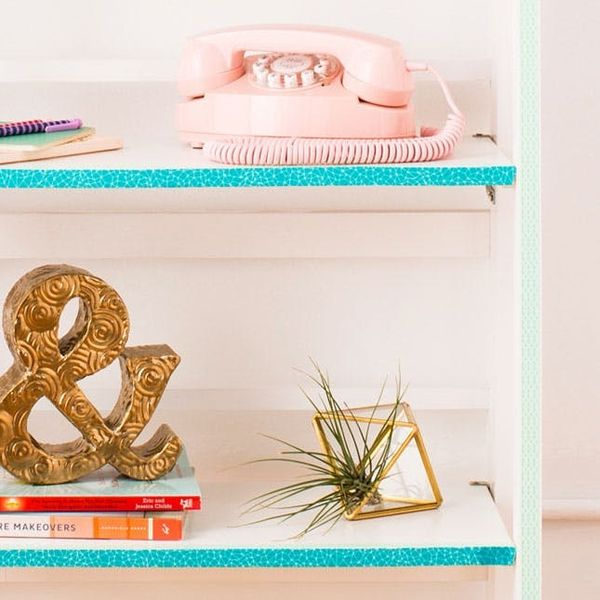 How to Use Washi Tape to Revamp Your Furniture