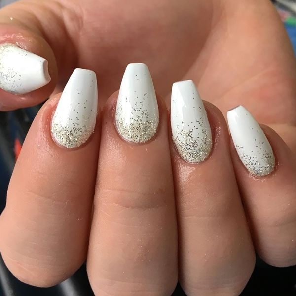15 Nail Designs That Prove Winter White Isn't as Boring as It Sounds
