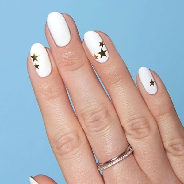 These Starry Manicures Will Light Up Your Nails