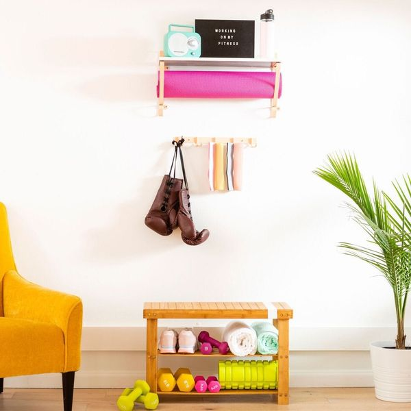 Try These Brilliant Home Gym Hacks in Your Tiny Apartment