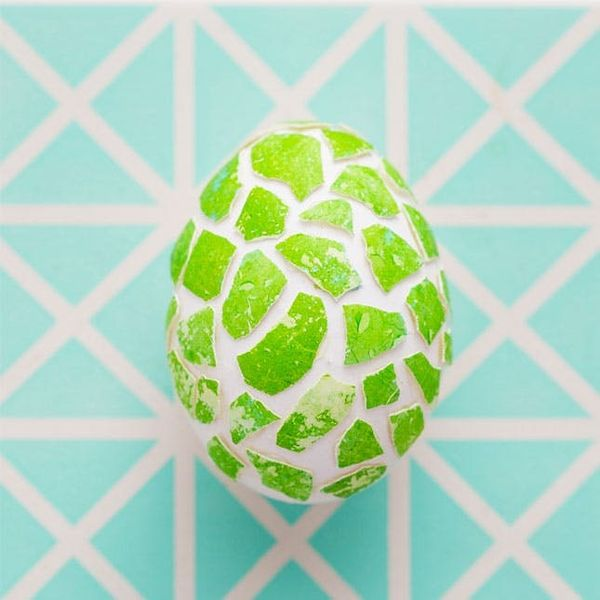 Let's Get Crackin'! How to Make Mosaic Easter Eggs