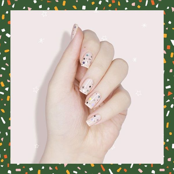 11 Confetti-Inspired Nail Art Designs to Rock on New Year's Eve