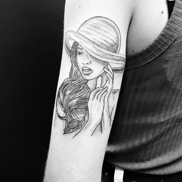 These Intricate Tattoos Are Created Entirely With Dots