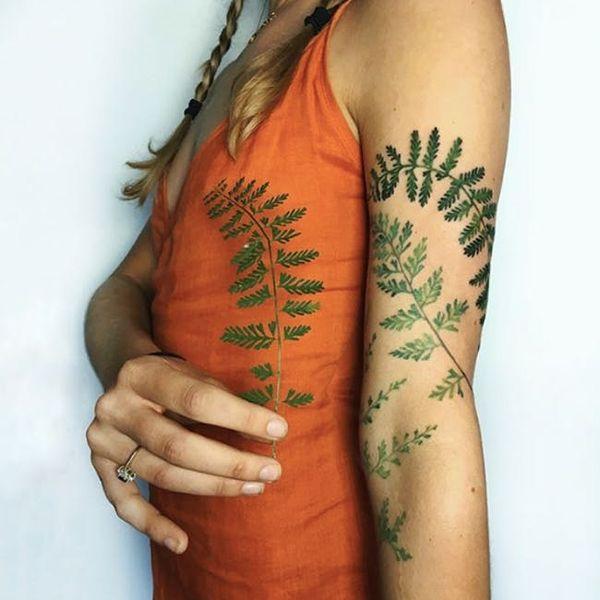 Ukrainian Artist Rita 'Rit Kit' Zolotukhina Talks Floral Tattoos