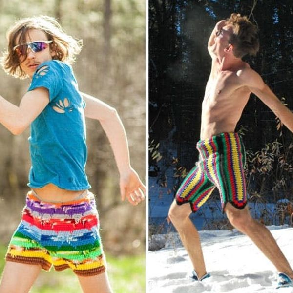 The BritList: Scratch and Sniff Wallpaper, Crocheted Shorts for Men and More
