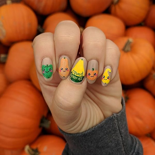 13 Fall Nail Ideas That Have Nothing to Do With Turkey