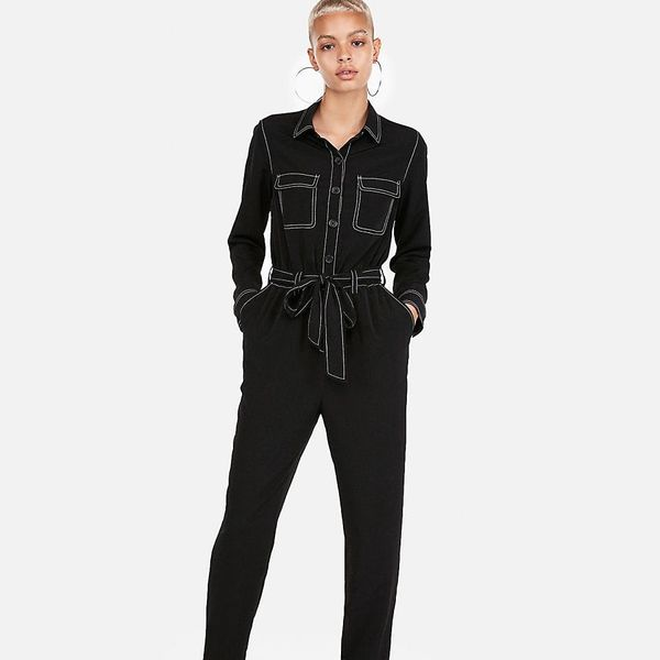 10 Long-Sleeve Jumpsuits That Make Getting Dressed Easy AF