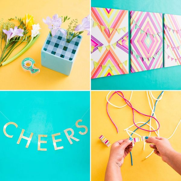 4 Everyday Tape Hacks (+ Win a Copy of Homemakers and DIY Starter Kits!)