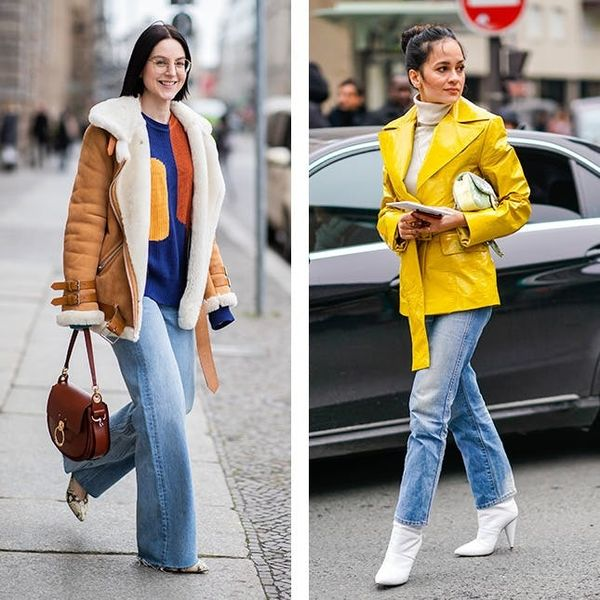 8 Stylish Winter Outfits to Wear With Your Favorite Straight-Leg Jeans