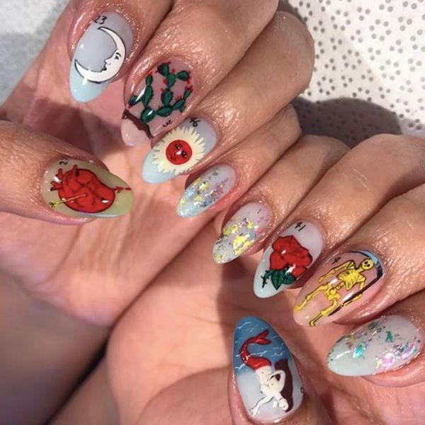 12 Tarot Card Nail Art Ideas to Round Out Your Halloween Look