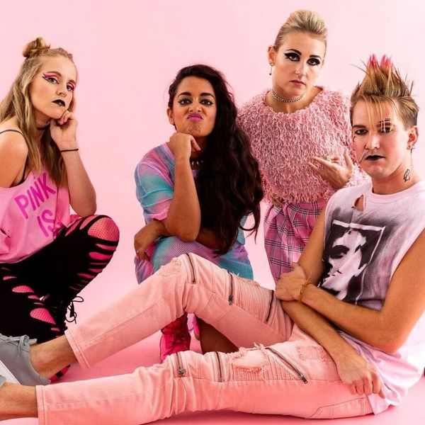 Rock a Punk Millennial Pink Group Halloween Costume