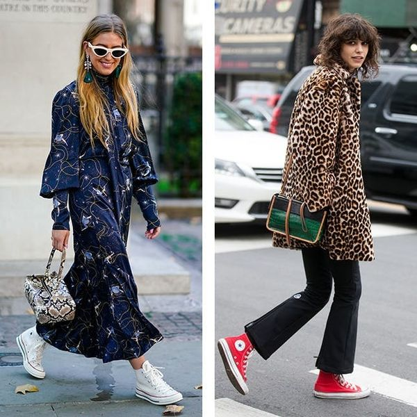 The Fashion-Girl Way to Style Your Favorite $55 Sneakers
