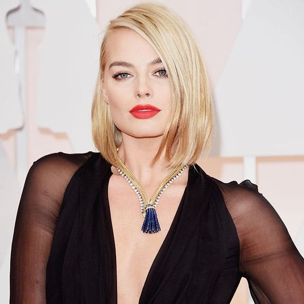 How to Get Margot Robbie's Oscars Makeup for Your Next Date Night