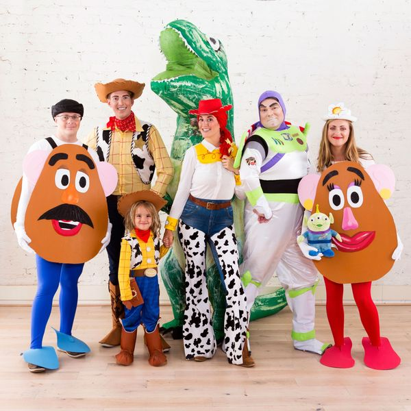 Reach for the Sky With This 'Toy Story' Group Halloween Costume