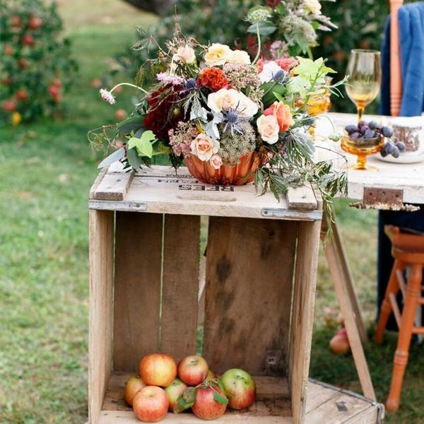 These Apple Orchard Weddings Are the Sweetest Things You'll See This Fall