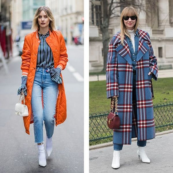 11 New Ways to Wear White Ankle Boots