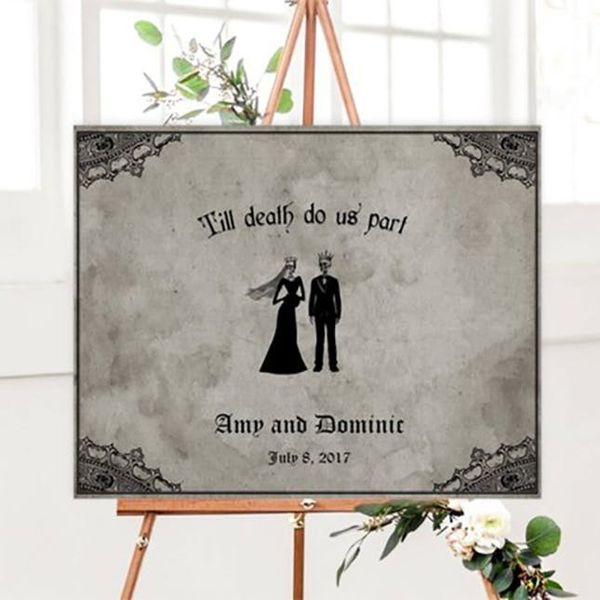 18 Spooky-Chic Decor Finds on Etsy for Halloween Weddings