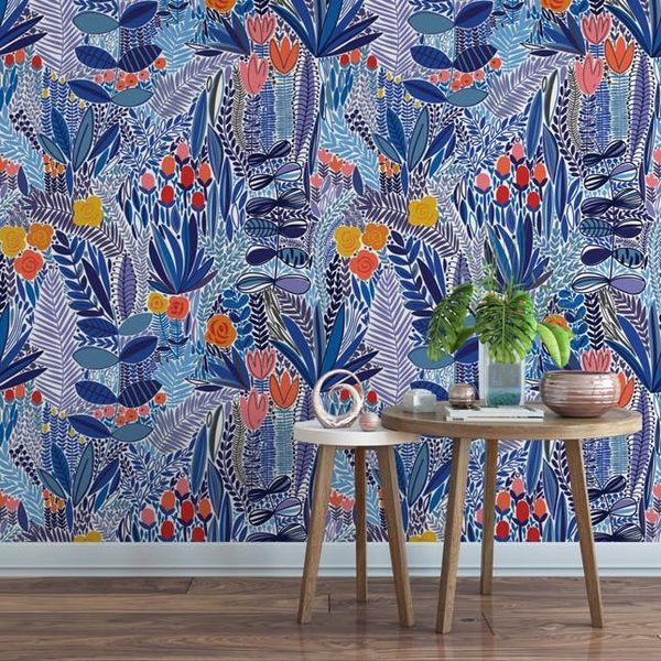 10 Trendy Temporary Wallpapers Every Plant Lady Will Love
