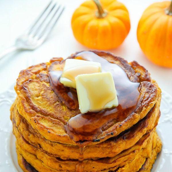 19 Pumpkin Pancake Recipes to Feed Your Pumpkin Spice Addiction