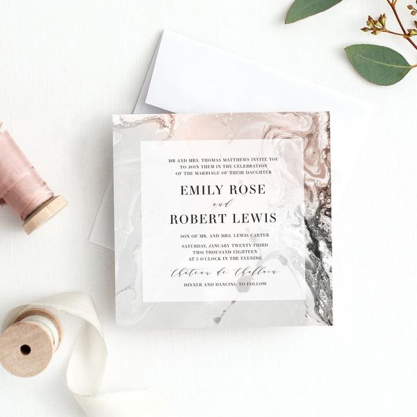 Top 6 Wedding Invitation Trends We Spotted on Etsy