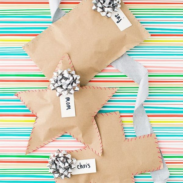This Tape-Free Gift Wrap Hack Is Genius