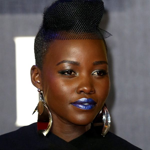 Lupita Nyong'o's Weird Red Carpet Hair Accessory Is a Look You'll Want to Try