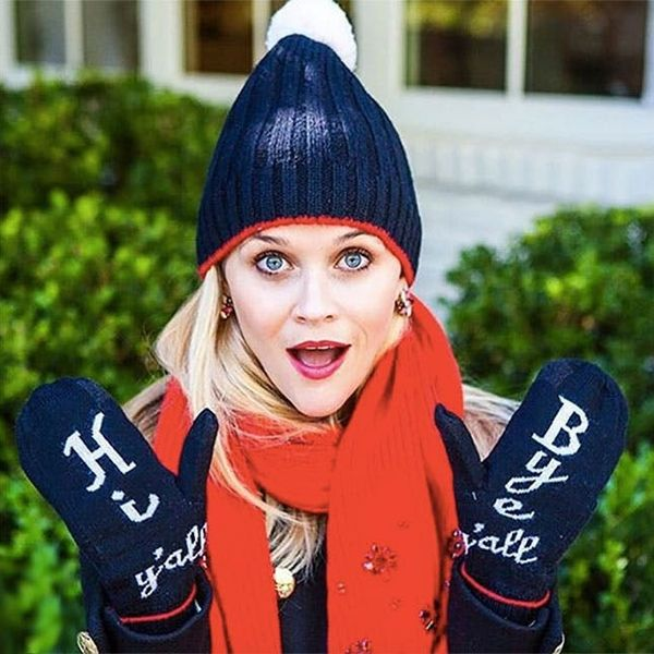 """How to Make Reese Witherspoon's """"Hi Y'all Bye Y'all"""" Winter Mittens"""