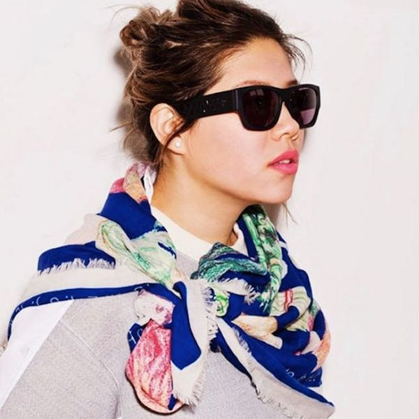 Scarves Get a Modern Makeover With This Cool Designer