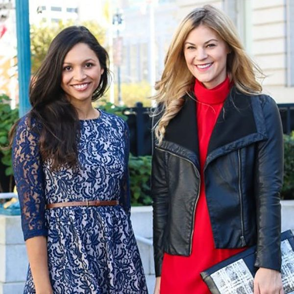 2 Bloggers Show Us How to Style Traditional + Non-Traditional Holiday Party Dresses