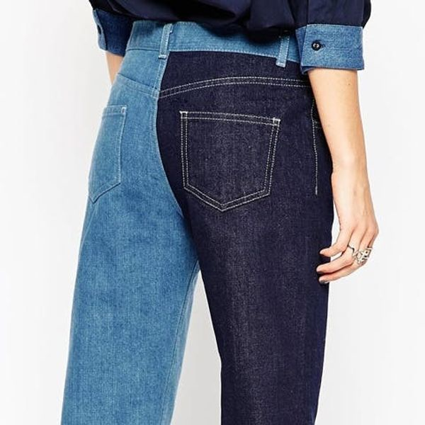 Why Two Tone Pants Might Be the Next New Denim Trend