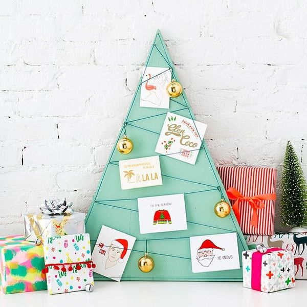 This Is the Best Place to Display Your Holiday Cards