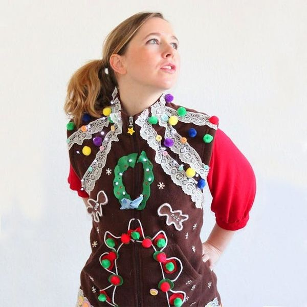 17 Ugly Christmas Sweater DIYs for ALL of Your Holiday Parties