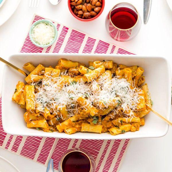 Celebrate Friendsgiving With Our Pumpkin Sage Pasta