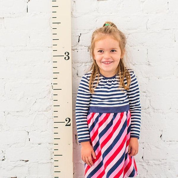 Make Family Memories With This DIY Kid Growth Chart Kit