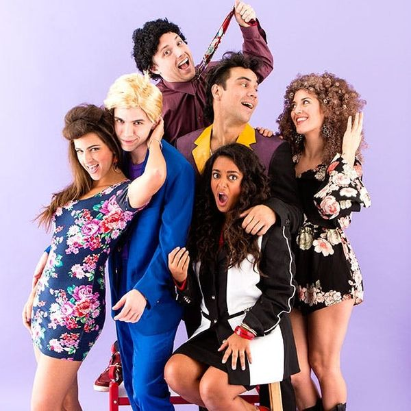 Saved by the Bell = Best Group Halloween Costume Ever