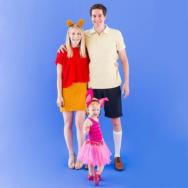 4 Extremely Cute DIY Family Costumes