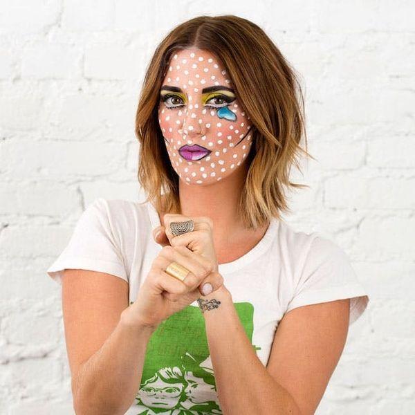 How to Do (Easy!) Pop Art Makeup for Halloween