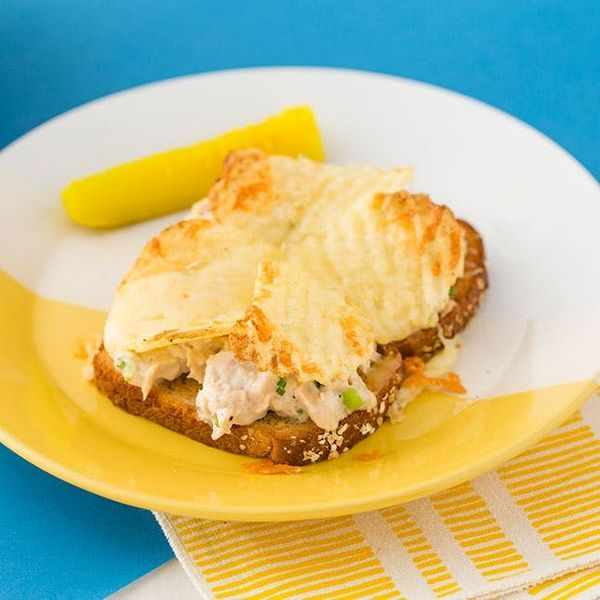 How to Make the Ultimate Open-Faced Tuna Melt