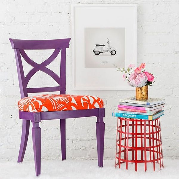 Use Cotton Fabric To Reupholster Your Dining Room Chairs