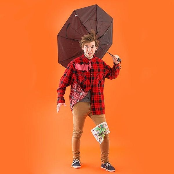 How to Turn 1 Flannel Shirt into 6 Halloween Costumes